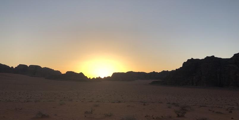 Wadi Rum Sunset 805