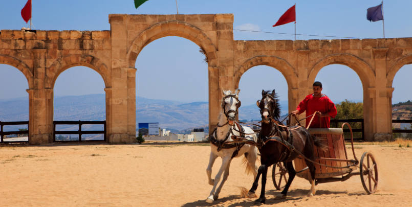 It only takes one hour to get from Amman to Jerash