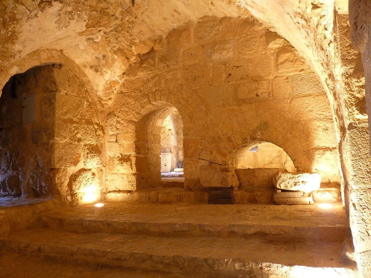 Ajloun Castle is a 12th Century fortress