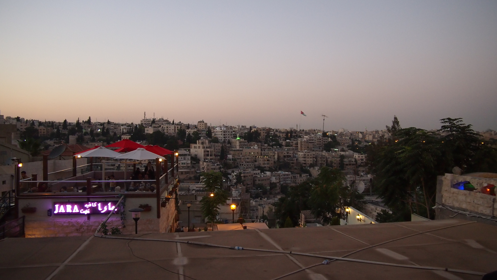 Rainbow Street in Amman is a popular location among locals