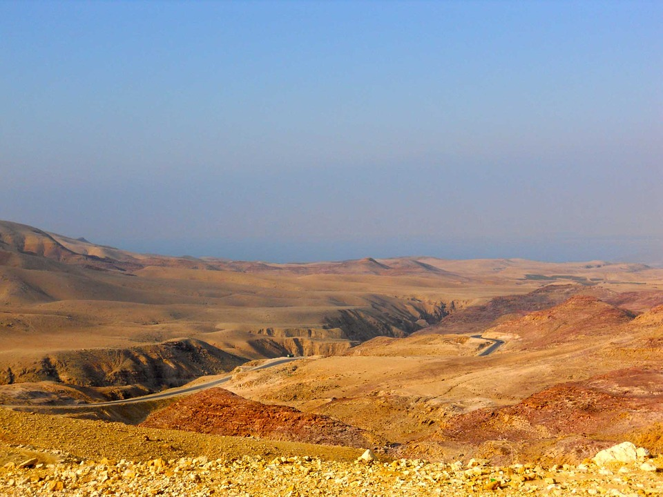 Near Mount Nebo