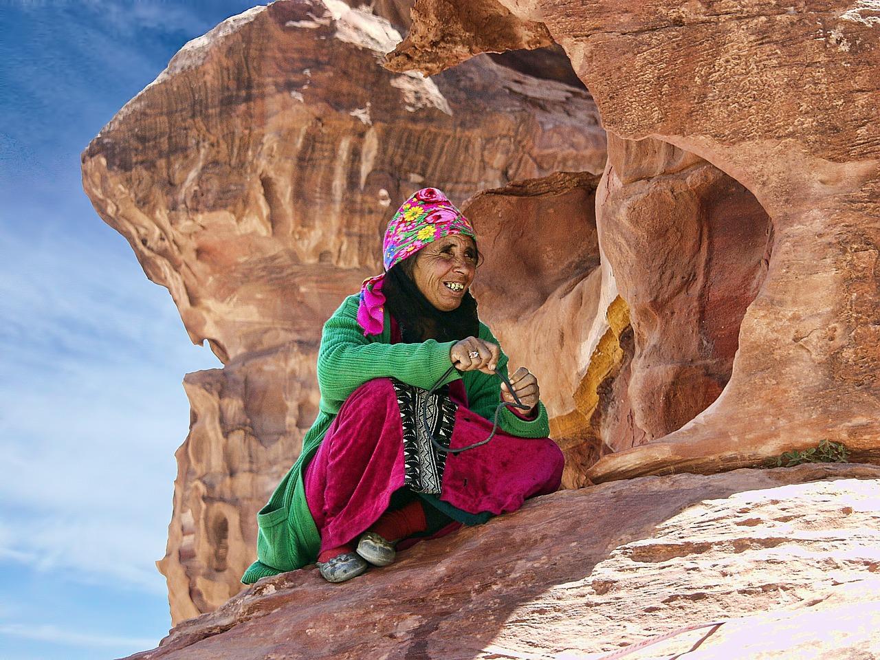 Local Bedouin in Petra