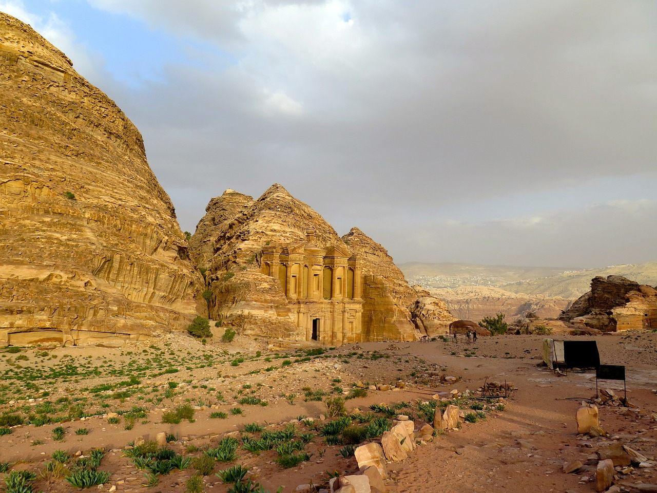 Arriving in Petra