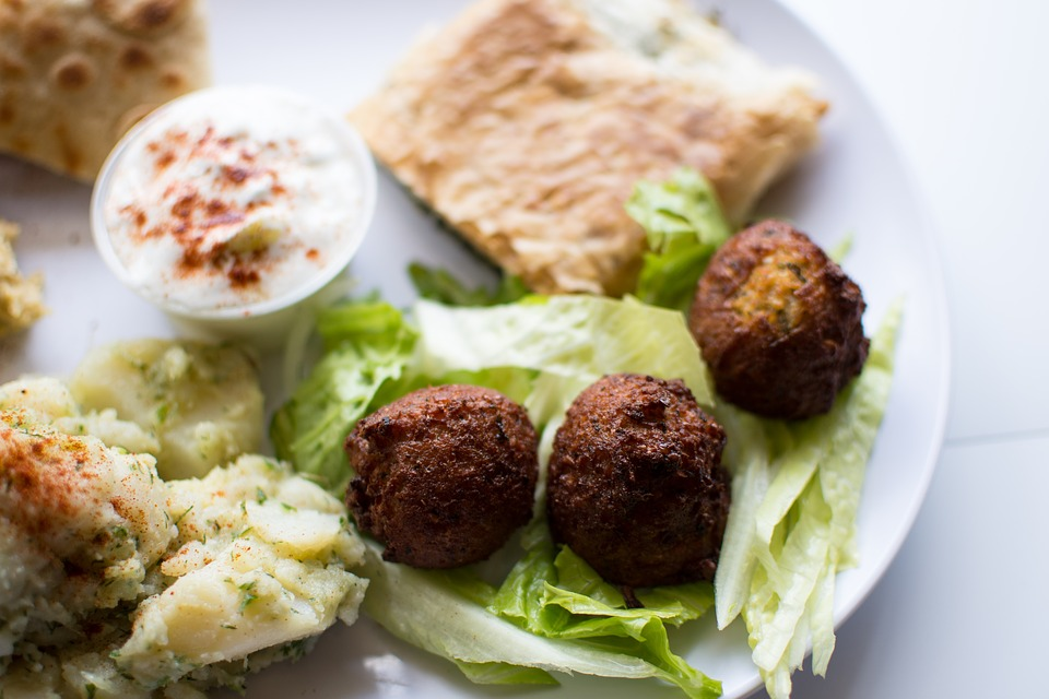 Traditional Jordanian food: Falafel
