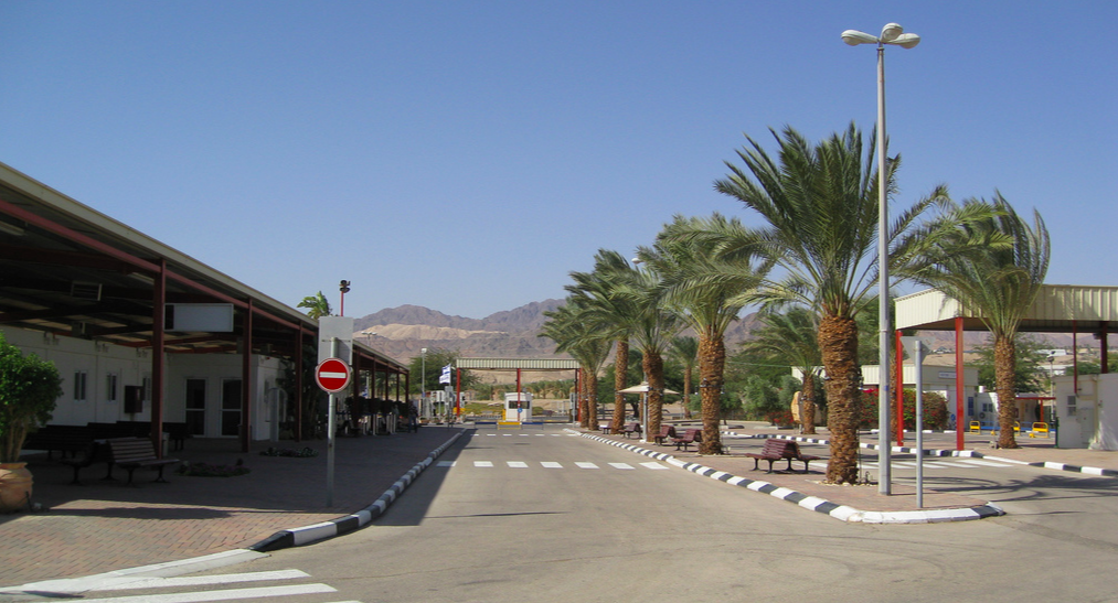 from Jordan to Israel via Yitzhak Rabin Terminal/Wadi Araba Crossing