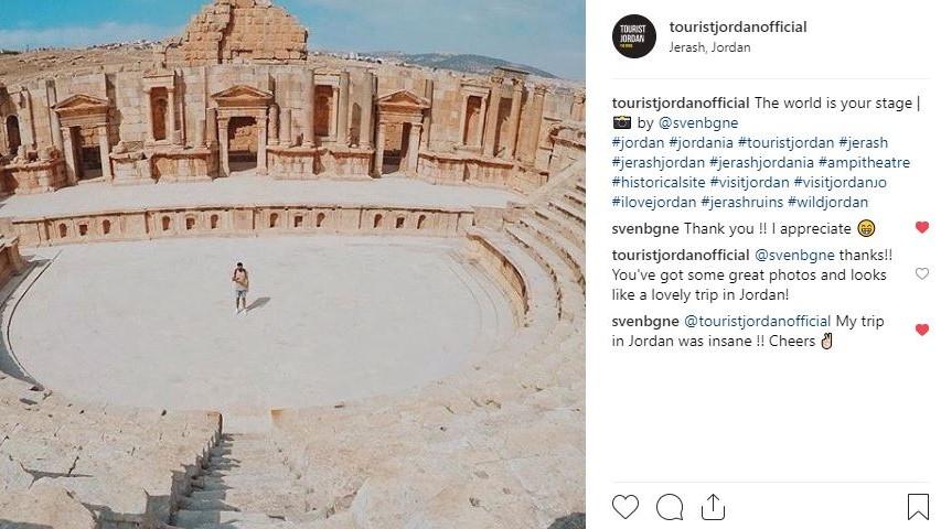 Instagram Jerash