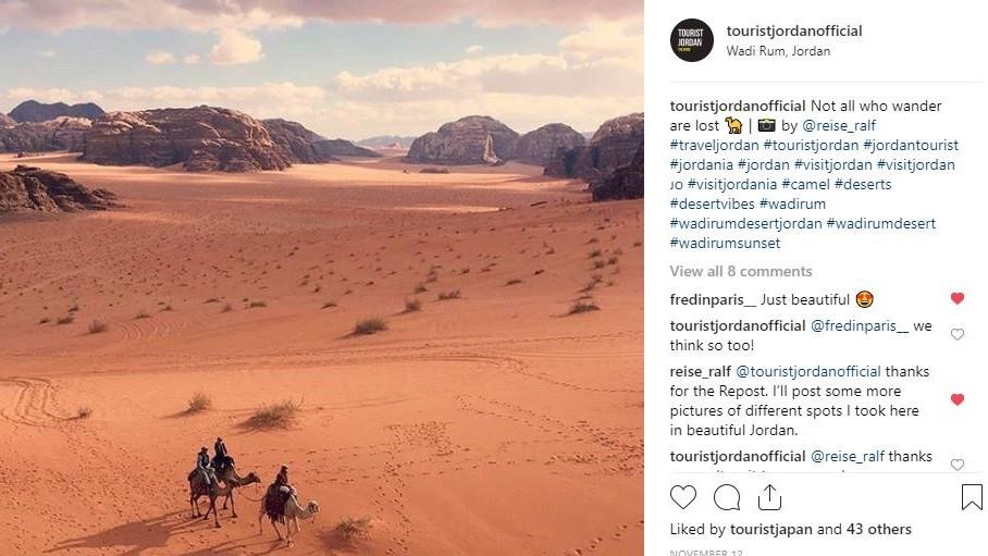 Instagram Wadi Rum